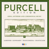 Cover of the track Purcell Edition, Vol. 3: Odes, Anthems & Ceremonial Music