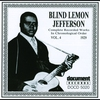 Cover of the album Blind Lemon Jefferson Vol. 1 (1925 - 1926)