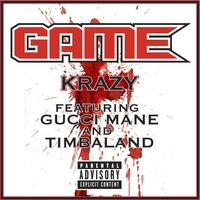 Cover of the track Krazy (feat. Gucci Mane & Timbaland) - Single