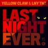 Couverture de l'album Last Night Ever - Single