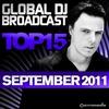 Cover of the album Global Dj Broadcast Top 15 - September 2011 (Including Classic Bonus Track)