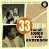 Couverture de l'album The Masters of Jazz: 33 Best of Jonah Jones & Ivie Anderson