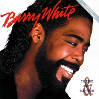 Cover of the track The Right Night & Barry White