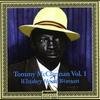 """Couverture de l'album Tommy McClennan Vol. 1 """"Whiskey Head Woman"""""""