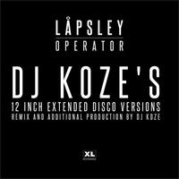 Couverture du titre Operator (DJ Koze's 12 inch Extended Disco Versions) - EP