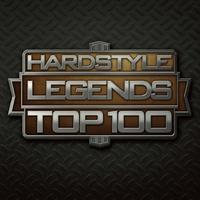 Couverture du titre Hardstyle Legends Top 100