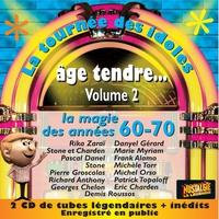 Couverture du titre La tournée des idoles - Age tendre, vol. 2