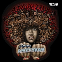 Cover of the track New Amerykah, Part One (4th World War)