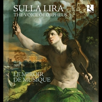 Cover of the track Sulla lira: The Voice of Orpheus