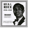 Cover of the album Rev. D.C. Rice (1928-1930)