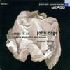 Cover of the album John Cage: Credo in US / Imaginary Landscapes