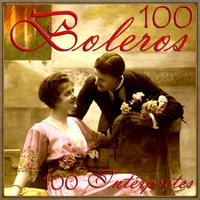 Cover of the track 100 Boleros, 100 Intérpretes