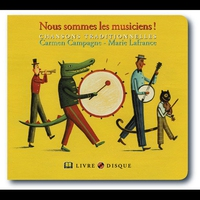 Cover of the track Nous Sommes Les Musiciens !