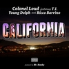 Couverture du titre California (feat. T.I., Young Dolph & Ricco Barrino)