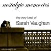 Couverture de l'album The Very Best of Sarah Vaughan (Nostalgic Memories Volume 86)