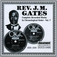 Couverture du titre Rev. J.M. Gates Vol. 9 (1934-1941)