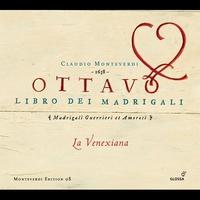 Cover of the track Claudio Monteverdi / Ottavo Libro dei Madrigali