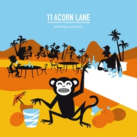 Cover of the track Painting Coconuts