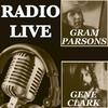 Cover of the album Radio Live: Gene Clark & Gram Parsons