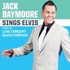 Cover of the album Jack Baymoore Sings Elvis (from the live concert Elvis Forever)