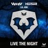 Couverture de l'album Live the Night - Single
