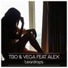 Couverture du titre Teardrops (feat. Alex)