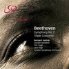 Couverture de l'album Beethoven: Symphony No. 7 & Triple Concerto