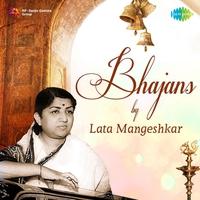 Cover of the track Bhajans by Lata Mangeshkar