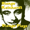 Couverture de l'album Django Plays