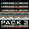 Couverture de l'album Ben Liebrand - Twelve Inches - Pack 2