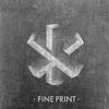 Couverture de l'album Fine Print (EP)