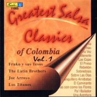 Cover of the track Greatest Salsa Classics of Colombia, Vol. 1