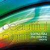Couverture du titre Beautiful Night (feat. MC Robinho & Diana) [Extended Version]