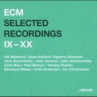 Cover of the track ECM Selected Recordings IX-XX