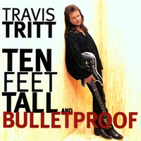 Couverture du titre Ten Feet Tall and Bulletproof