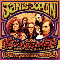Cover of the track Live at Winterland '68 (with Big Brother & The Holding Company)