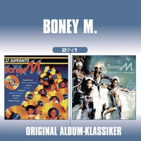 Cover of the track Boney M. - 2 in 1 (In the Mix/The Best 12inch Versions)