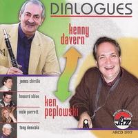 Couverture du titre Kenny Davern and Ken Peplowski - Dialogues