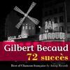 Cover of the album Best of Chanson française : Gilbert Becaud (72 succès) [Les années 50]