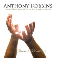 Cover of the track Anthony Robbins' Sacred Blessings