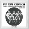 Cover of the album East Texas Serenaders (1927-1937)
