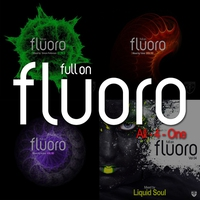 Cover of the track Full On Fluoro - All-4-One (Mixed By Simon Patterson, Yahel, Activa & Liquid Soul)