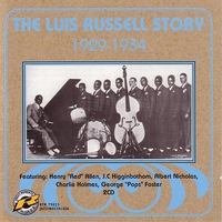 Cover of the track The Luis Russell Story 1929-1934