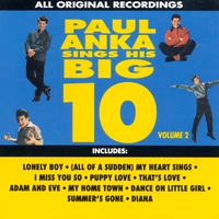 Couverture du titre Paul Anka Sings His Big 10, Vol. 2