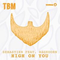 Couverture du titre High On You (feat. Hagedorn) [Radio Edit] - Single