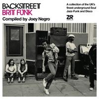 Couverture du titre Backstreet Brit Funk: Compiled by Joey Negro