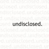 Cover of the album Undisclosed