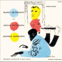Cover of the track Buddy Defranco and Oscar Peterson Play George Gershwin