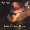 Cover of the album Live in Your Head
